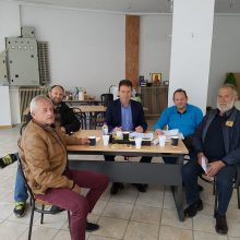 Επίσκεψη στον υποψήφιο Δήμαρχο Κοζάνης Φώτη Κεχαγια πραγματοποίησε το Δ.Σ. τουΣυλλόγου Πολιτικών Υπαλλήλων ΥΕΘΑ ΓΕΣ Δ. Μακεδονίας