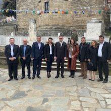 Στην επιμνημόσυνη δέηση για το ολοκαύτωμα της Κλεισούρας παραβρέθηκε, σήμερα, ο υποψήφιος Περιφερειάρχης Δυτικής Μακεδονίας Γ. Κασαπίδης