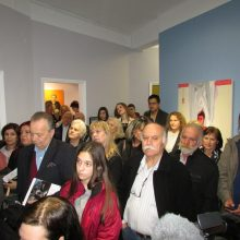kozan.gr: Κοζάνη:Μεγάλη η συμμετοχή του κόσμου στα εγκαίνια της έκθεσης της εικαστικού Μαρίας Λαγού με τίτλο «Πνοές» και της παράλληλης έκθεσης 5 Εικαστικών από την Κοζάνη (Φωτογραφίες & Βίντεο)