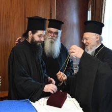 Στον Πατριάρχη Βαρθολομαίο ο μητροπολίτης Σισανίου και Σιατίστης Αθανάσιος