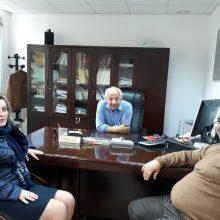 Επίσκεψη της υποψήφιας Δημάρχου Εορδαίας Αθηνάς Τερζοπούλου στον ΕΦΚΑ Πτολεμαΐδας