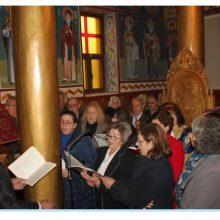 Οι Ε' Χαιρετισμοί στο μοναστήρι της Παναγίας Ζιδανίου (Βίντεο 27′ – Φωτογραφίες)