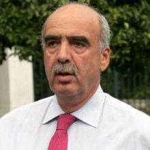 Στην Κοζάνη, την Παρασκευή 12/4, ο υποψήφιος Ευρωβουλευτής της ΝΔ Ευάγγελος Μεϊμαράκης