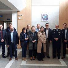 Την ηγεσία της Διεύθυνσης Αστυνομίας Π.Ε. Κοζάνης και τις αστυνομικές υπηρεσίες επισκέφθηκε σήμερα ο υποψήφιος Περιφερειάρχης Δυτικής Μακεδονίας Γιώργος Κασαπίδης