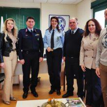Επίσκεψη της Τοπικής Διοίκησης Κοζάνης της Διεθνούς Ένωσης Αστυνομικών στον Γενικό Περιφερειακό Αστυνομικό Διευθυντή Δυτικής Μακεδονίας (Φωτογραφίες)