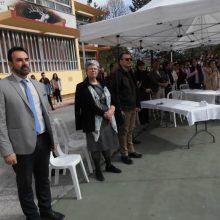 "kozan.gr: Ομάδα 60 μαθητών και 5 καθηγητών από τη Σικελία, (σχολείο ""LyceoCaminitiTrimarchiSantaTeresadiRiva"") επισκέφτηκαν σήμερα Τετάρτη 10 Απριλίου το 2ο ΓΕΛ Κοζάνης (Φωτογραφίες & Βίντεο)"