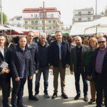 Την Πτολεμαΐδα επισκέφτηκε σήμερα ο υποψήφιος Περιφερειάρχης Δυτικής Μακεδονίας Γ. Κασαπίδης