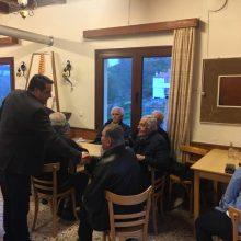 Σε Λούβρη, Κριμήνι, Ροδοχώρι και Μόρφη βρέθηκε ο επικεφαλής του συνδυασμού «Βόιο – Υπεύθυνα Μαζί» και υποψήφιος Δήμαρχος Λάζαρος Γκερεχτές (Φωτογραφίες)