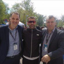 Ο υποψήφιος Δήμαρχος Κοζάνης Κυριάκος Μιχαηλίδης για την σημερινή νίκη του Μιχάλη Παρμάκη στον 14ο Διεθνή Μαραθώνιο «Μέγας Αλέξανδρος»  στην Θεσσαλονίκη