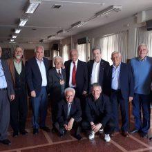 Την Κυριακή 14.4.2019 πραγματοποιήθηκε συνάντηση των Δ.Σ. της Ευξείνου Λέσχης Θεσσαλονίκης και Ευξείνου Λέσχης Κοζάνης