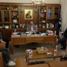 Συνάντηση του προέδρου του Επιμελητηρίου Κοζάνης, Νίκου Σαρρή με την διοίκηση του Συνδέσμου Γουνοποιών – Γουνεμπόρων Σιάτιστας «Ο Προφήτης Ηλίας»