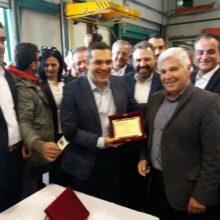 kozan.gr: Ώρα 11:50 π.μ.: Στις εγκαταστάσεις του Αγροτικού Συνεταιρισμού Βελβεντού «Δήμητρα» ο Πρωθυπουργός Αλέξης Τσίπρας (Βίντεο & Φωτογραφίες)