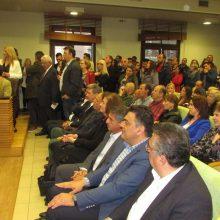 Τα ονόματα των υποψηφίων που παρουσιάστηκαν στην εκδήλωση παρουσίαση του Συνδυασμού «Κοζάνη Μπροστά» του Ευάγγελου Σημανδράκου (Δελτίο τύπου)