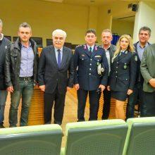Συνάντηση της Ένωσης Αστυνομικών Υπαλλήλων Κοζάνης με τον Αρχηγό της Ελληνικής Αστυνομίας