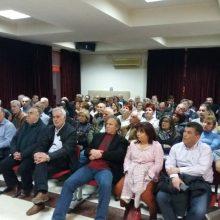 kozan.gr: Με ομιλητές τους υποψήφιους Ευρωβουλευτές, Κ.Αρβανίτη και Α. Νικολαϊδη πραγματοποιήθηκε το βράδυ της Τετάρτης 17/4, στην Πτολεμαϊδα, η πολιτική εκδήλωση του ΣΥΡΙΖΑ με θέμα «η  Ευρώπη της Αλληλεγγύης» (Φωτογραφίες & Βίντεο)