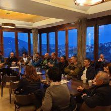 Συνάντηση του συνδυασμού «Δύναμη Επανεκκίνησης», του Χρήστου Ζευκλή, με τους συλλόγους της Σιάτιστας (Φωτογραφίες)