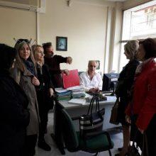 Επίσκεψη της Αθηνάς Τερζοπούλου στον ΟΑΕΔ Πτολεμαΐδας