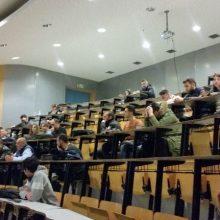 Πραγματοποιήθηκε με επιτυχία στο ΤΕΙ Δ. Μακεδονίας στην Καστοριά η διάλεξη του διακεκριμένου Έλληνα επιστήμονα της Αμερικής, Ν. Στεργίου