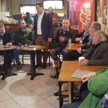 Συνάντηση του υποψήφιου Δημάρχου Εορδαίας Παναγιώτη Πλακεντά με το Τοπικό Συμβούλιο και κατοίκους των Αναργύρων (Φωτογραφίες)