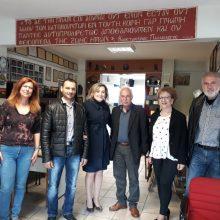 Επίσκεψη της Αθηνάς Τερζοπούλου στη Θρακική Εστία Εορδαίας