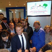 kozan.gr: Πραγματοποιήθηκαν,  το Σάββατο 20 Απριλίου, τα εγκαίνια του εκλογικού κέντρου της ανεξάρτητης Δημοτική Παράταξης « ΔΥΝΑΜΗ ΠΡΟΟΠΤΙΚΗΣ» με επικεφαλής και υποψήφιο Δήμαρχο Κοζάνης Φώτη Κεχαγιά (Βίντεο 12′ & 30 Φωτογραφίες)