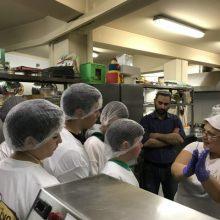 Με μεγάλη επιτυχία πραγματοποιήθηκε το πρώτο σεμινάριο ζαχαροπλαστικής για τα παιδιά του 3ου Γυμνασίου Κοζάνη