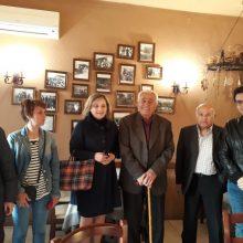 Τις τοπικές κοινότητες Αγίου Χριστοφόρου και Καρυοχωρίου Εορδαίας, επισκέφθηκε η Αθηνά Τερζοπούλου