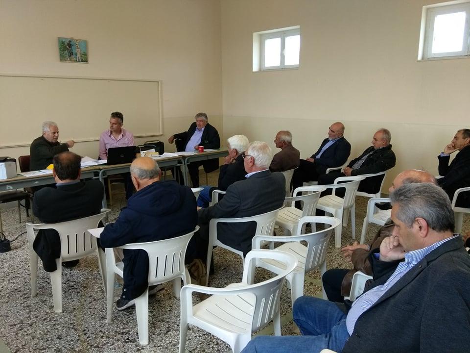 Πραγματοποιήθηκε ο απολογισμός έργων – παρεμβάσεων από το πρόεδρο της Τ.Κ. Κερασιάς