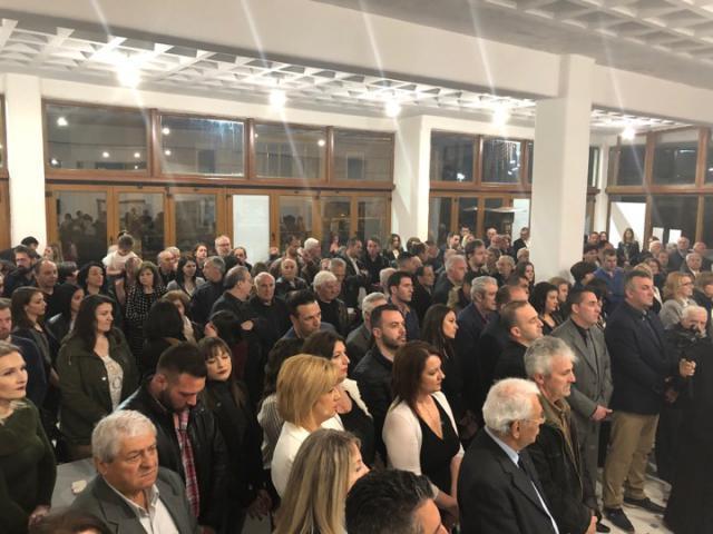 Τα εγκαίνια του εκλογικού κέντρου του συνδυασμού «Βόιο- Υπεύθυνα Μαζί» στη Σιάτιστα- Πλήθος κόσμου και ευχές στον εορτάζοντα, Λάζαρο Γκερεχτέ (Δελτίο τύπου)