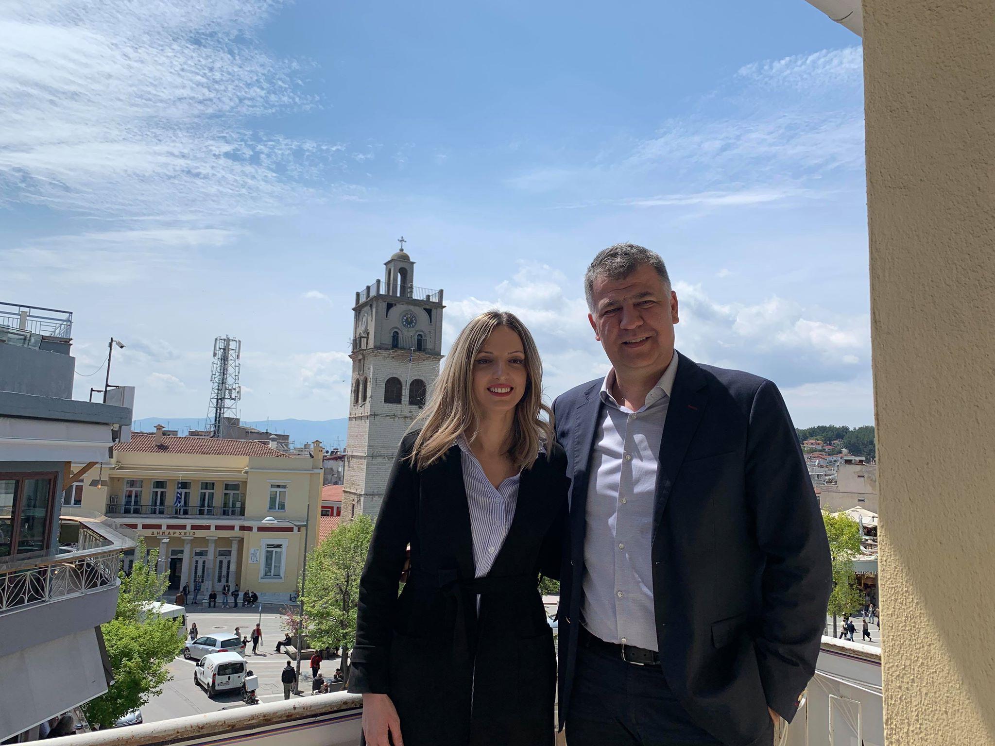 kozan.gr: Χύτρα ειδήσεων: Υποψήφια δημοτική σύμβουλος, με το συνδυασμό «Κοζάνη Μπροστά» του Ε. Σημανδράκου, η Αγάπη Καλαϊτζή