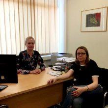 Συνάντηση εργασίας της Αναπληρώτριας Πρύτανη Καθηγήτριας του Πανεπιστημίου Δυτικής Μακεδονίας, Τσακιρίδου Ελένης και της Καθηγήτριας του ΤΕΙ Δυτικής Μακεδονίας, Μητλιάγκα Παρασκευής
