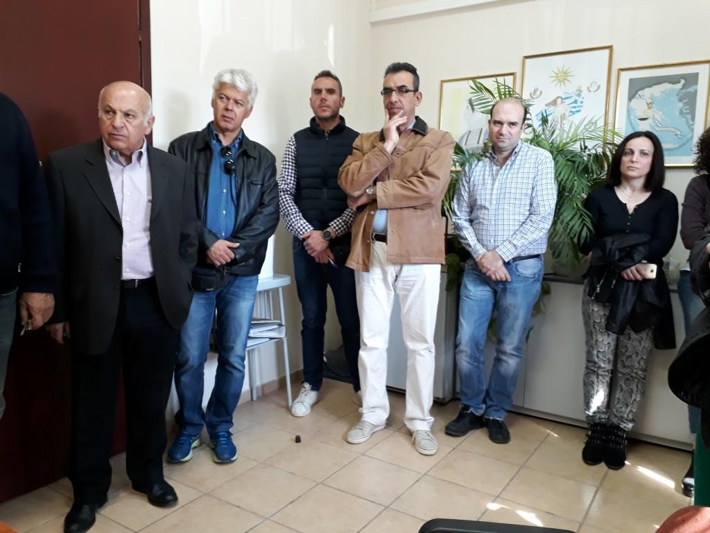Επίσκεψη της Αθηνάς Τερζοπούλου στις Τεχνικές Υπηρεσίες του Δήμου Eoρδαίας (Φωτογραφίες)