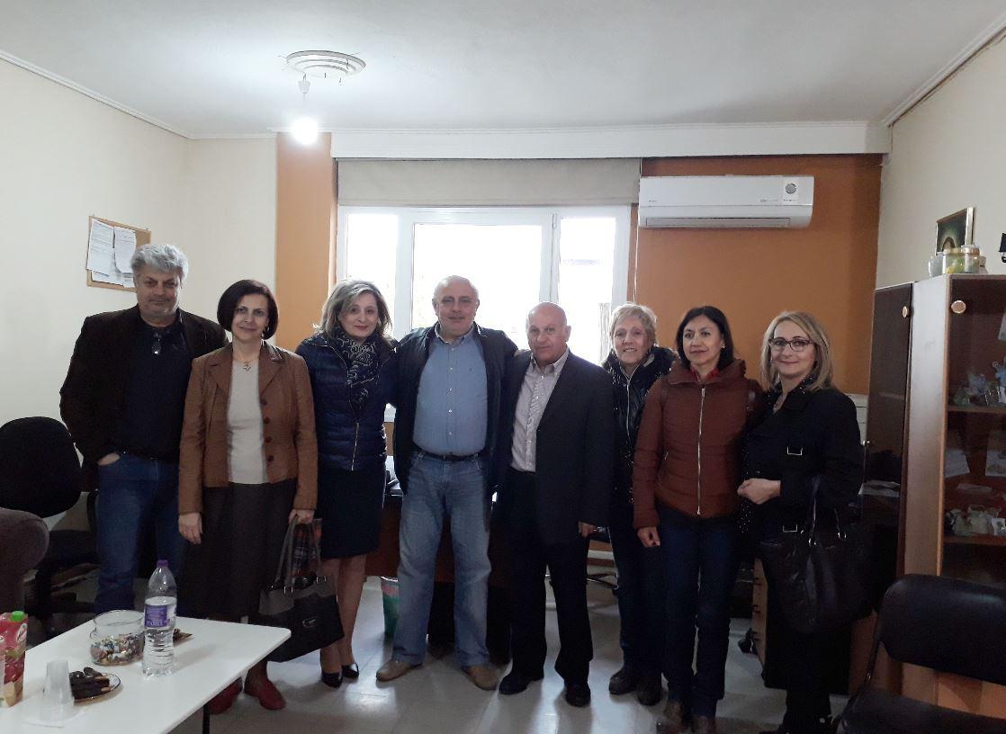 Επίσκεψη της Αθηνάς Τερζοπούλου στο Σύλλογο Γονέων και Κηδεμόνων Παιδιών με Ειδικές Ανάγκες Εορδαίας
