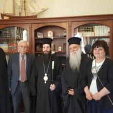 Το νέο Μητροπολίτη Σισανίου και Σιατίστης κ.κ. Αθανάσιο υποδέχθηκε σήμερα, 24/4,  στο γραφείο του ο Δήμαρχος Βοΐου Δημήτριος Λαμπρόπουλος
