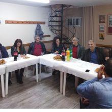Με τη διοίκηση του Πολιτιστικού Συλλόγου Ερμακιάς και με μέλη του συλλόγου ΑμεΑ είχε συναντήσεις ο υποψήφιος δήμαρχος Εορδαίας  Γ. Καραβασίλης (Φωτογραφίες)