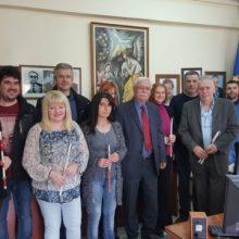 Ο Δήμαρχος Βοΐου Δημήτριος Λαμπρόπουλος ευχαριστεί θερμά τις κυρίες του ΚΗΦΗ Σιάτιστας