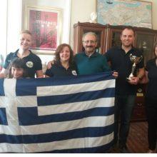 """Με το Δήμαρχο Εορδαίας συναντήθηκε η αποστολή του Συλλόγου Βλατσιωτών Πτολεμαΐδας «Ο Προφήτης Ηλίας», που συμμετείχε στο """"Παγκόσμιο Φεστιβάλ Λαογραφίας Cannes- San Remo-Diano Marina 2019"""""""