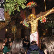 kozan.gr: Ώρα 21.00: Πλήθος πιστών στην Ακολουθία των Αγίων Παθών στον Άγιο Νικόλαο Κοζάνης – «Σήμερον κρεμάται επί ξύλου» (Φωτογραφίες & Βίντεο)