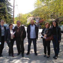 Περιοδεία στο Βελβεντό πραγματοποίησε την Κυριακή 21/4, κλιμάκιο του ΚΚΕ