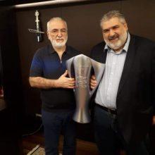 Συνάντηση υποψήφιου Δημάρχου Εορδαίας Παναγιώτη Πλακεντά με τον  Ιβάν Σαββίδη