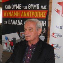 kozan.gr:  Ν. Χουντής (ΛΑΕ), σε περιοδεία του στην Κοζάνη: «Ο ελληνικός λαός στις ευρωεκλογές θα τιμωρήσει τις Ελληνικές δυνάμεις για τις μνημονιακές πολιτικές»