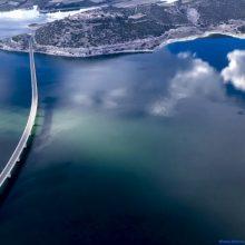 Δύο φωτογραφίες από την υψηλή γέφυρα Σερβίων στις πρώτες 10 νικητήριες του διαγωνισμού #meteoGR_contest