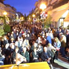 Πραγματοποιήθηκε την Παρασκευή, 3/5, η εκδήλωση παρουσίασης των υποψηφίων δημοτικών συμβούλων του συνδυασμού «με το Βλέμμα στο Μέλλον» με υποψήφιο δήμαρχο τον Στάθη Κοκκινίδη
