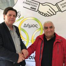 Ανακοίνωση υποψηφίου με τους Αδέσμευτους Πολίτες, ο Κώστας Τσοπανίδης, συνταξιούχος της ΔΕΗ, από το Καπνοχώρι Κοζάνης.
