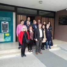 kozan.gr: Ο Κυριάκος Μιχαηλίδης & υποψήφιοι του συνδυασμού Μετάβαση για το Δήμο Κοζάνης κατέθεσαν, πριν από λίγο, στο Πρωτοδικείο Κοζάνης τη δήλωση του συνδυασμού για συμμετοχή στις εκλογές της 26ης Μαΐου (Φωτογραφία)