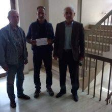kozan.gr: Κατατέθηκε, σήμερα Σάββατο, στο Πρωτοδικείο Κοζάνης, η δήλωση του συνδυασμού «Ελληνική Αυγή για τη Δυτική Μακεδονία» για συμμετοχή στις εκλογές της 26ης Μαΐου – Υποψήφιος Περιφερειάρχης ο Χρήστος Σαββουλίδης – 43 υποψήφιοι στο ψηφοδέλτιο (Φωτογραφία)