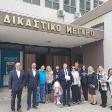 """Kozan.gr:Κατατέθηκε, πριν από λίγο, στο Πρωτοδικείο Κοζάνης, το ψηφοδέλτιο του συνδυασμού """"ΔΥΝΑΜΗ ΠΡΟΟΠΤΙΚΉΣ"""" με υποψήφιο Δήμαρχο Κοζάνης τον Φ. Κεχαγιά (Φωτογραφία)"""