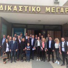 kozan.gr: Πραγματοποιήθηκε, σήμερα Κυριακή, στο Πρωτοδικείο Κοζάνης, η κατάθεση του ψηφοδελτίου για το συνδυασμό «ΚΟΖΑΝΗ ΜΠΡΟΣΤΑ» του Ε. Σημανδράκου (Φωτογραφία)