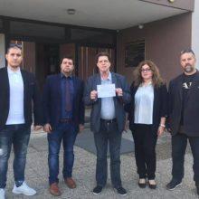 """Η κατάθεση, στο Πρωτοδικείο Κοζάνης, της δήλωσης του συνδυασμού """"Αδέσμευτοι Πολίτες"""", του Κ. Κύργια, για συμμετοχή στις εκλογές της 26ης Μαΐου"""