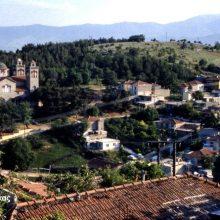 kozan.gr: Μάρτιος 1987: Φωτογραφία, με λήψη από τη Σκ'ρκα και θέα τον Αγ. Νικάνορα